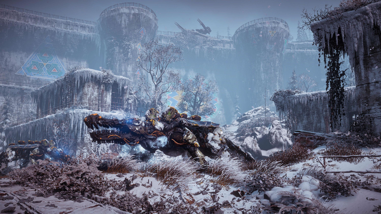 """传奇私服1.76精品泡点PS4大作《地平线:黎明时分》DLC""""冰尘雪野""""绝美4K游戏截图欣赏"""