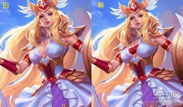 万劫连击传奇网站《王者荣耀》新赛季女英雄衣服加料 重点部位惨遭和谐