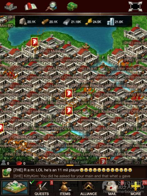 Game of War(from pocketgamer.biz)